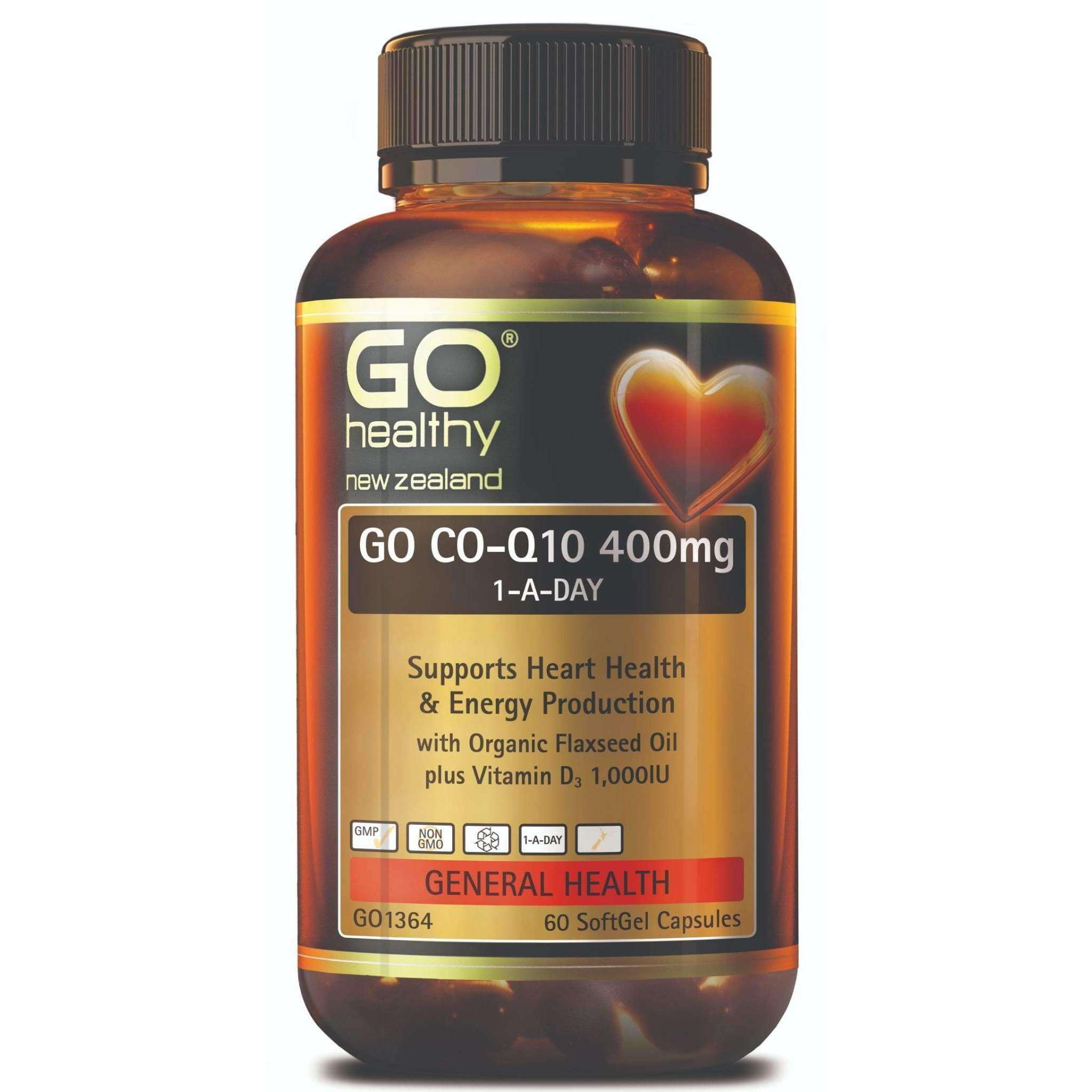 Go Co-Q10 400mg 1-A-Day