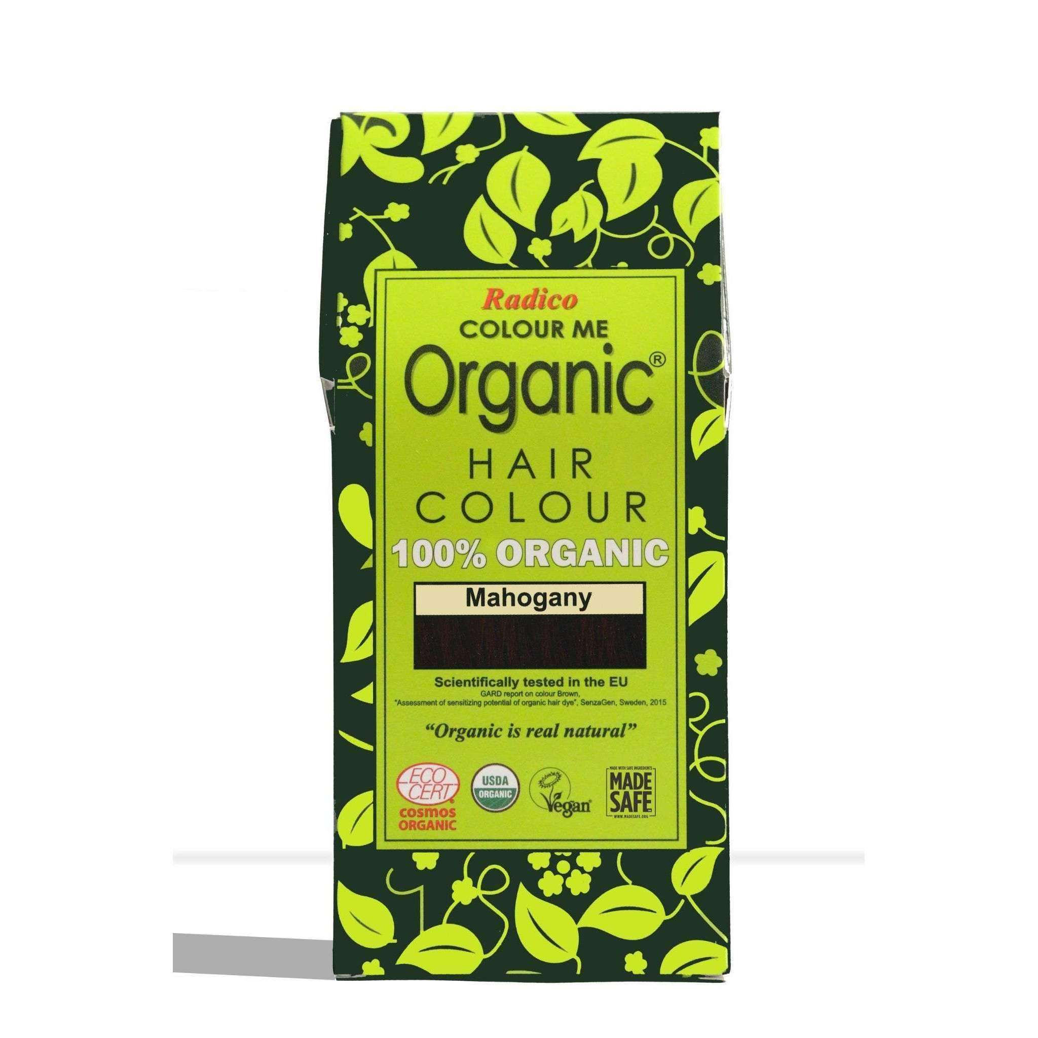 Organic Hair Colour - Mahogany