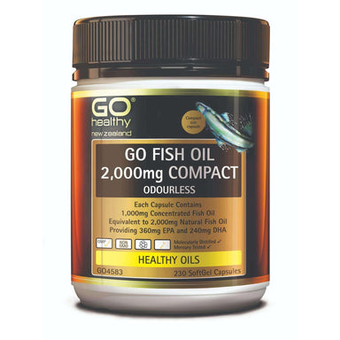 Go Healthy Go Fish Oil 2000mg