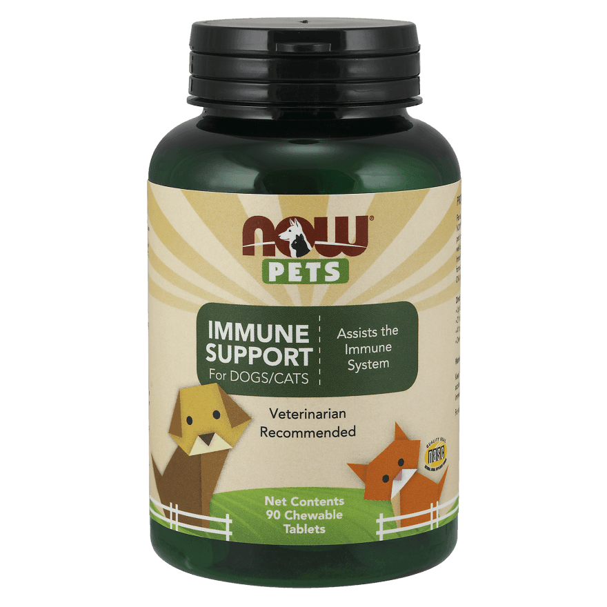 Now Pets Pets Immune Support for Dogs and Cats