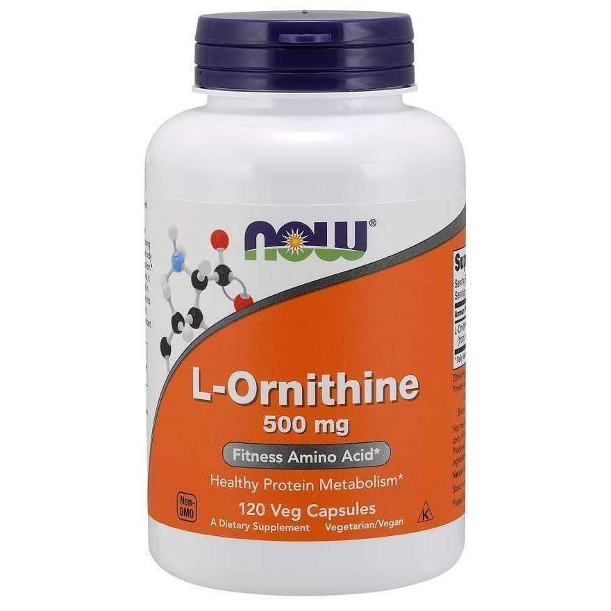 Now L-Ornithine 500mg