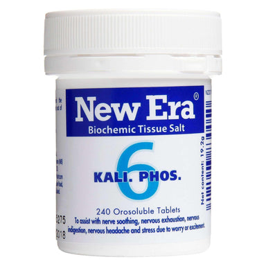 New Era New Era No. 6 Kali Phos - The Natural Tranquiliser