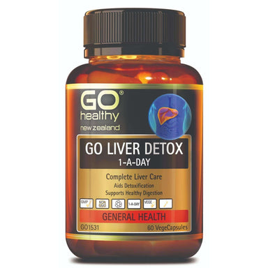 Go Healthy Go Liver Detox 1-A-Day