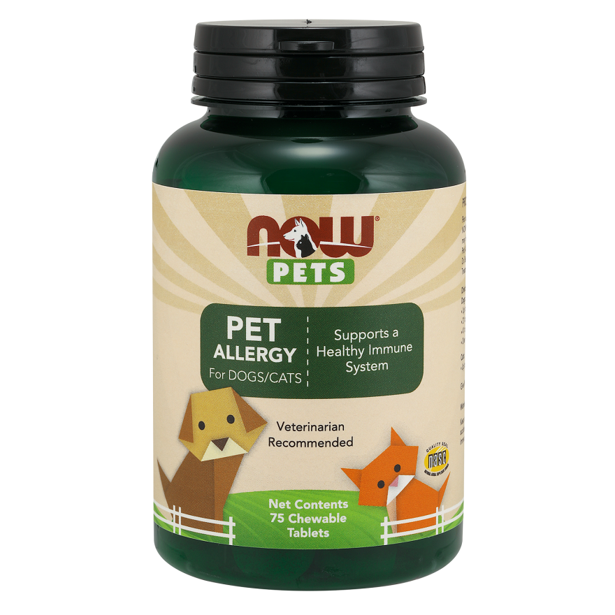 Pet Allergy Support for Dogs and Cats