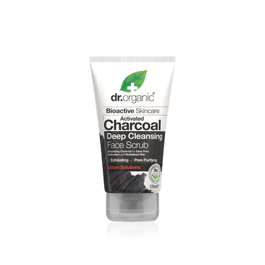 Dr.Organic Activated Charcoal Deep Cleansing Face Scrub