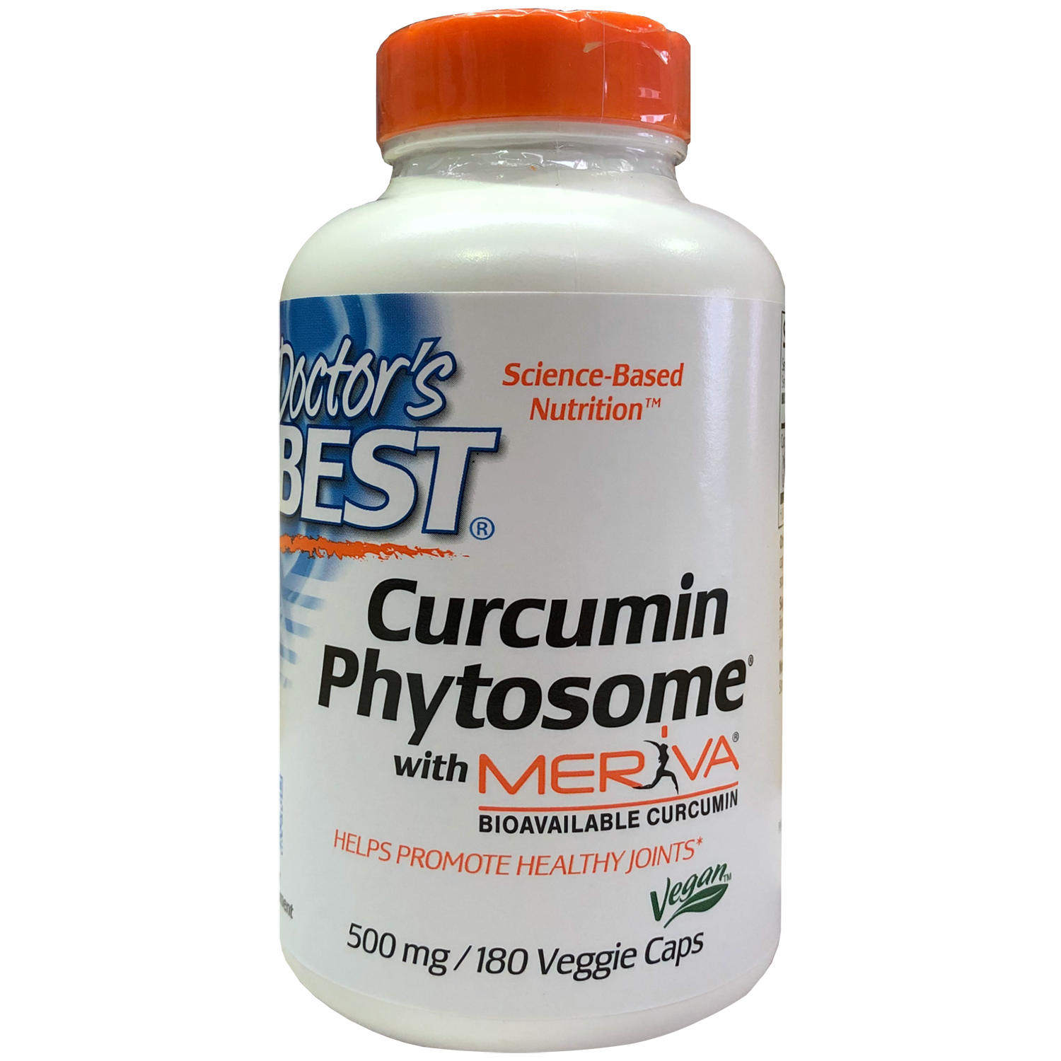 Doctor's Best Curcumin Phytosome featuring Meriva
