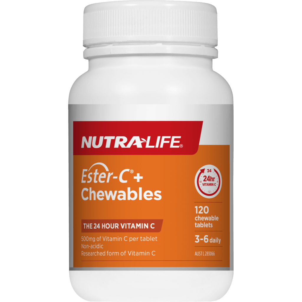 Nutra-Life Ester-C + Chewables