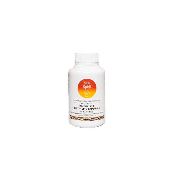 Omega 369 Oil of Emu Capsules 750mg