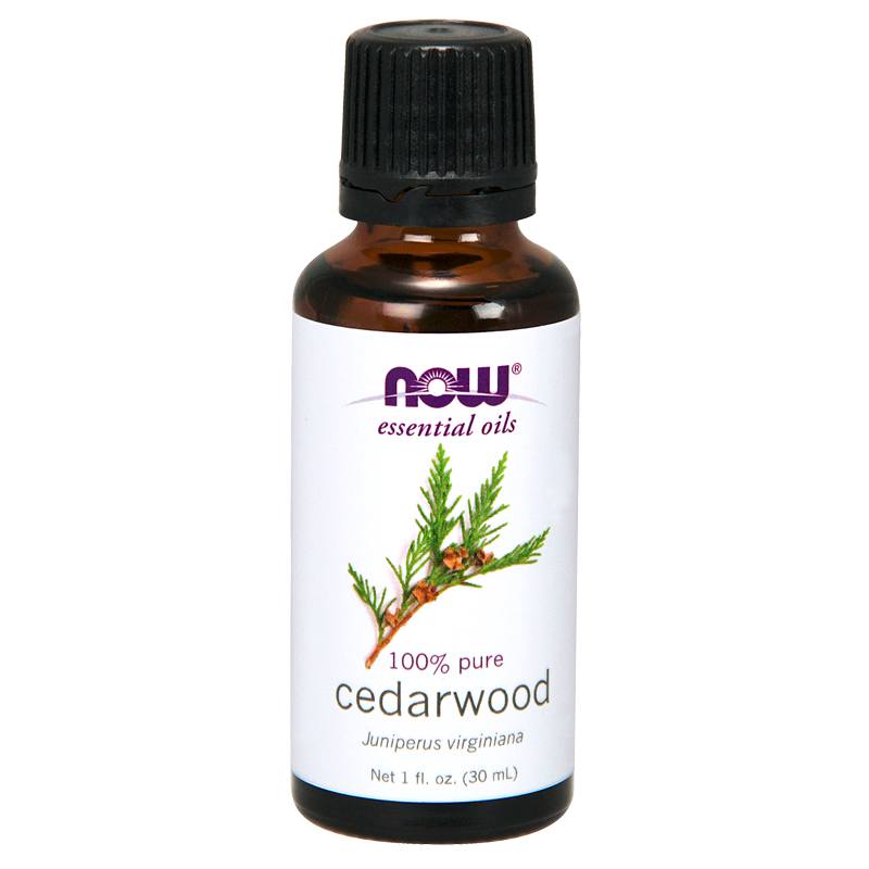 Cedarwood Essential Oil (Juniperus Virginiana), 100% Pure