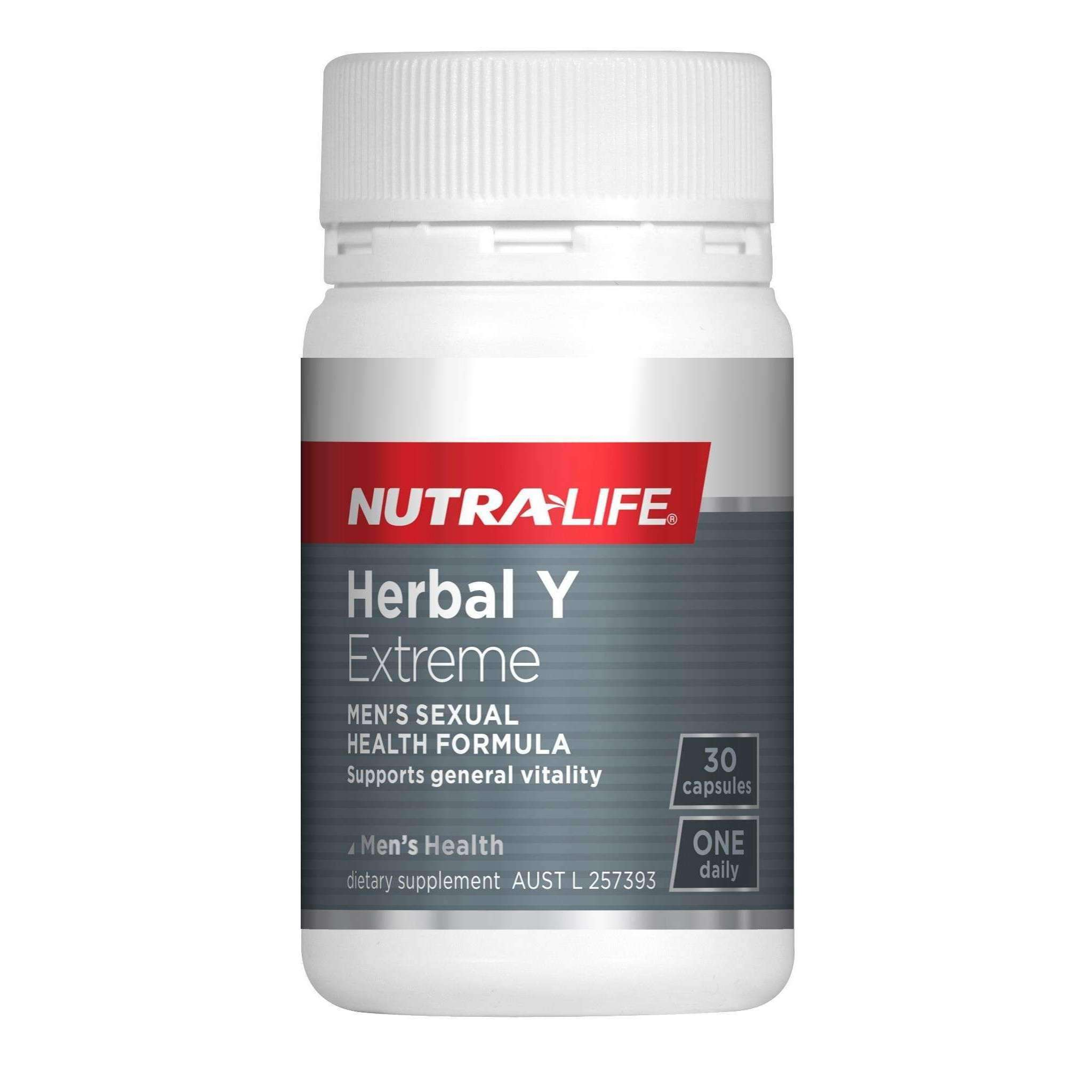Nutra-Life Herbal Y Extreme for Men