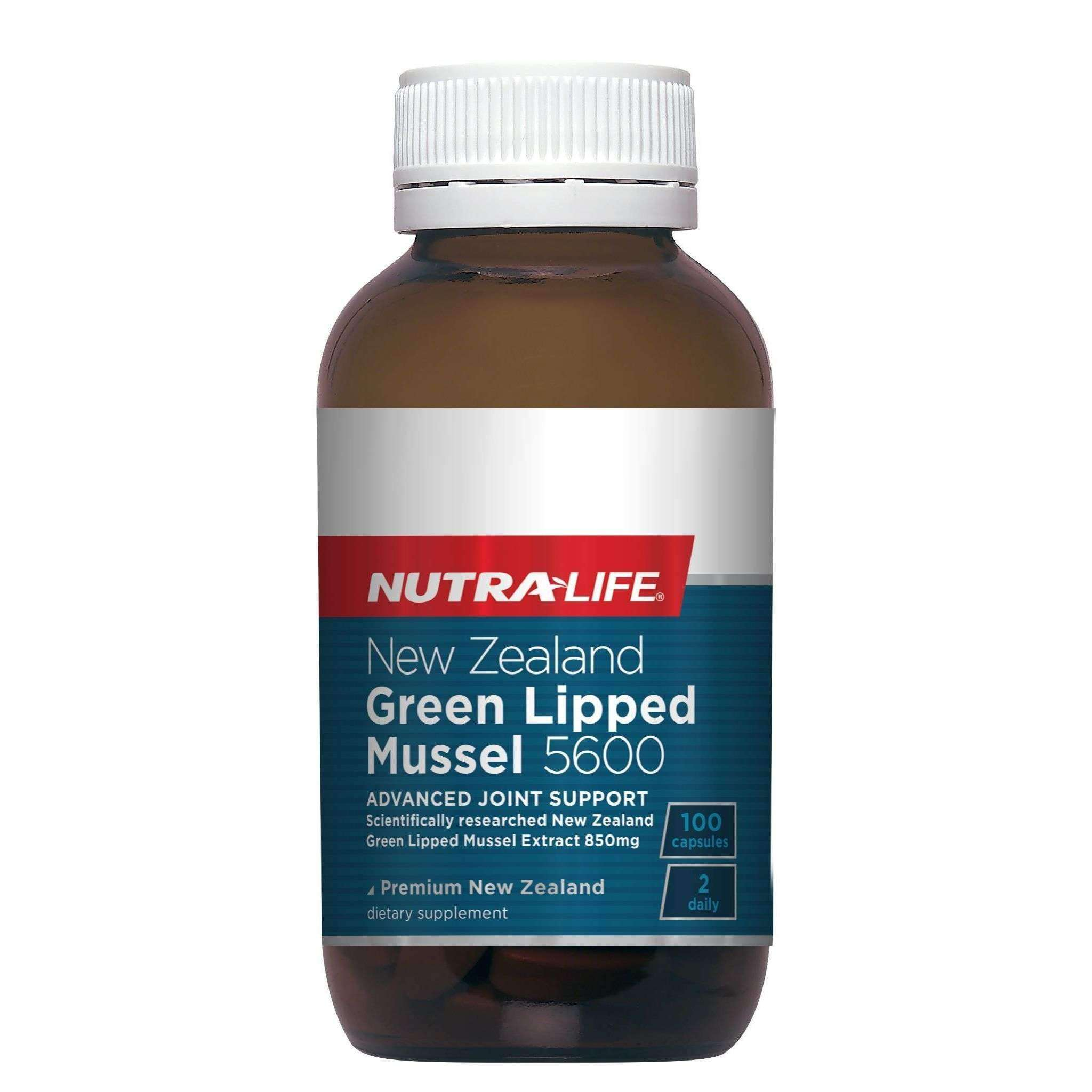Nutra-Life NZ Green Lipped Mussel 5600