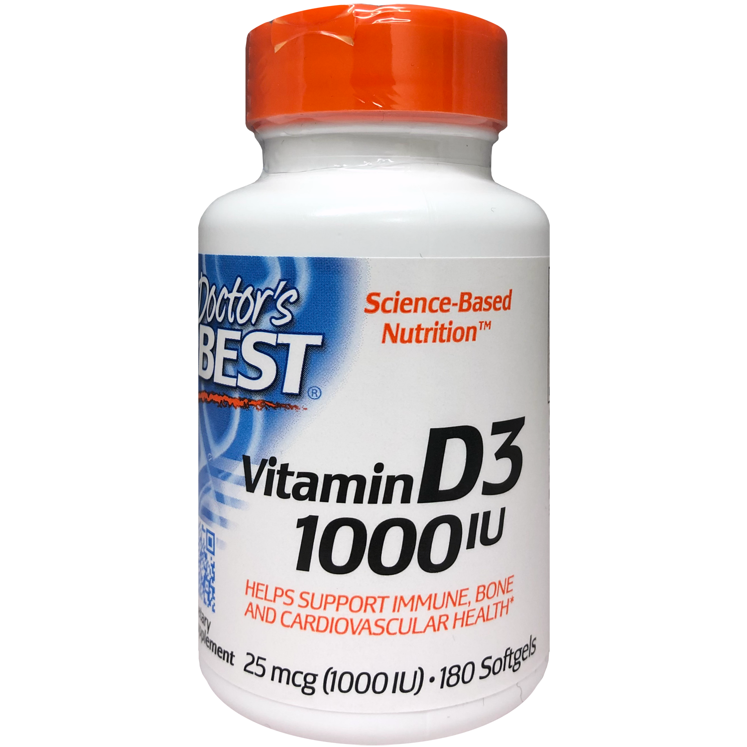 Doctor's Best Vitamin D3 1000IU