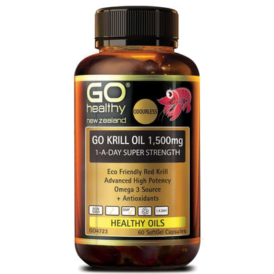 Go Healthy Go Krill Oil 1500mg