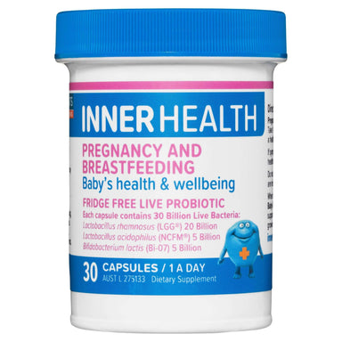 Inner Health Inner Health Pregnancy & Breastfeeding Probiotic