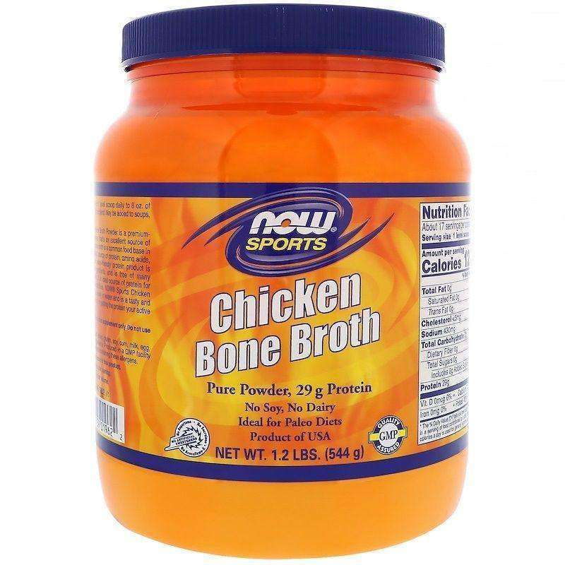 Now Now Sports Chicken Bone Broth Powder