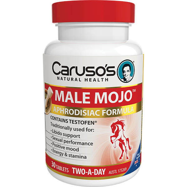 Caruso's Natural Health Male Mojo Aphrodisiac and Mood Formula