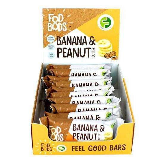Low FODMAP Banana & Peanut Butter Bar