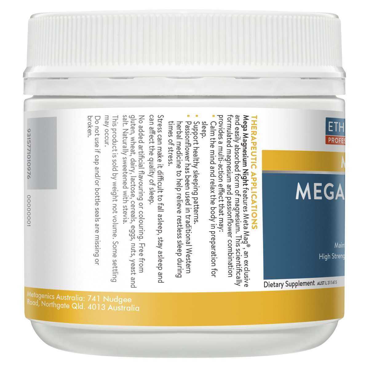 Mega Magnesium Night