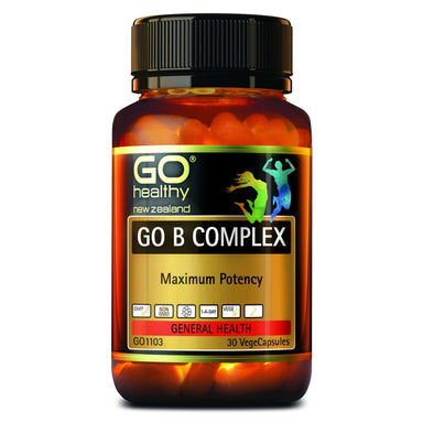 Go Healthy Go B Complex 30 Vegetable Capsules