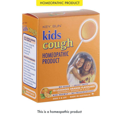 Key Sun Laboratories Kids Cough Lollipops