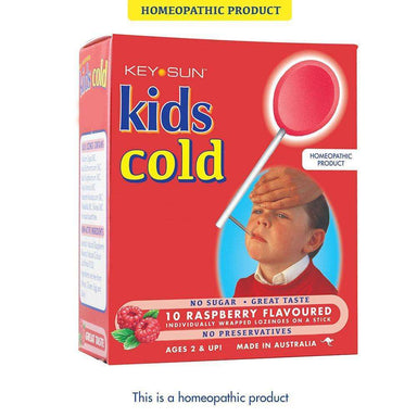 Key Sun Laboratories Kids Cold Lollipops
