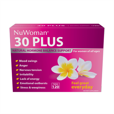 NuWoman NuWoman 30 PLUS Natural Hormone Balance Support