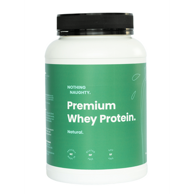 Nothing Naughty Premium Whey Protein Natural