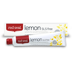 Red Seal Lemon SLS free Toothpaste