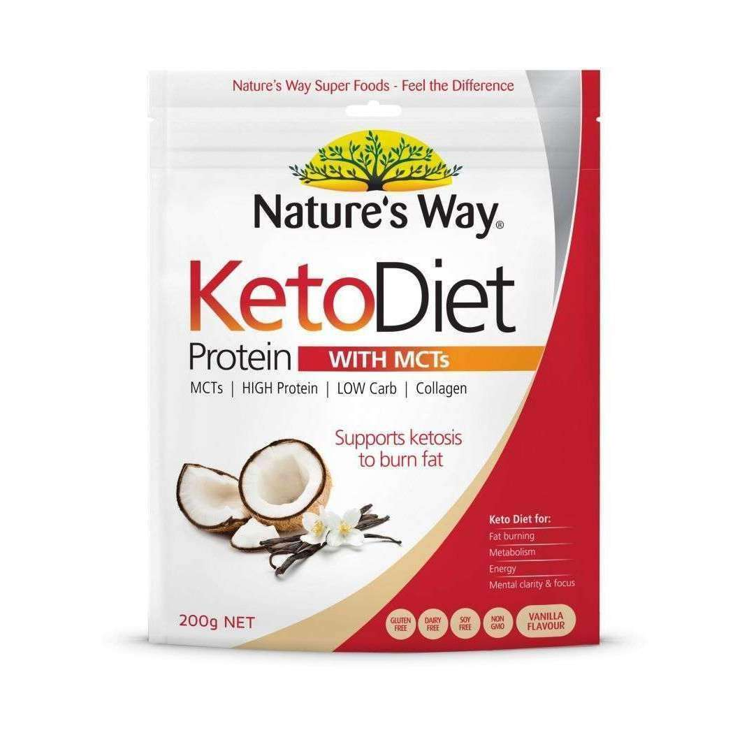 Keto Diet Protein Powder with MCTs
