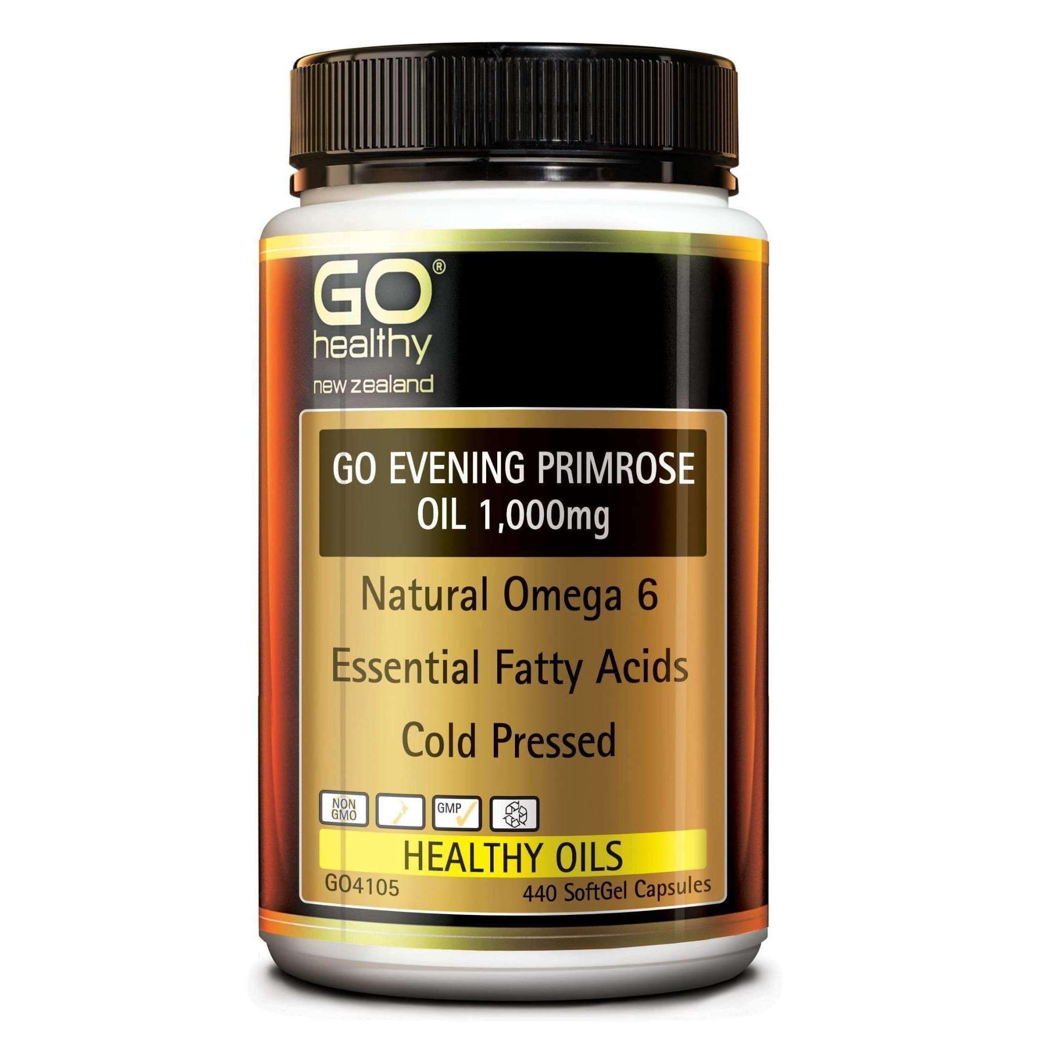 Go Evening Primrose Oil 1,000mg