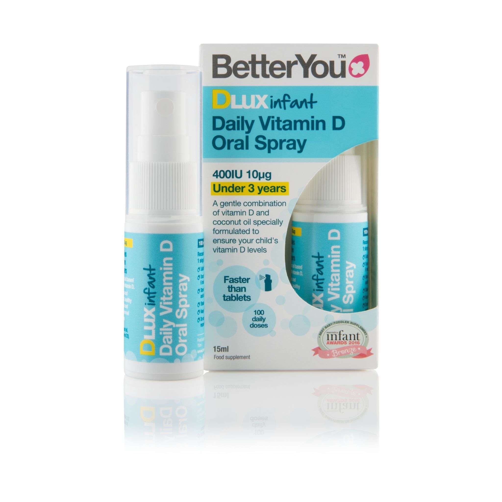 BetterYou BetterYou Dlux Infant Daily Oral D3 Spray