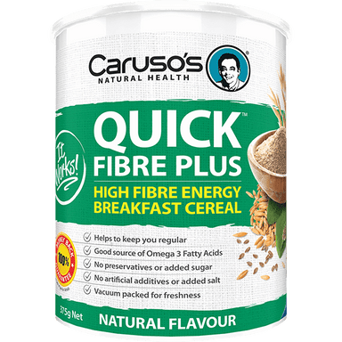 Caruso's Natural Health Quick Fibre Plus Natural