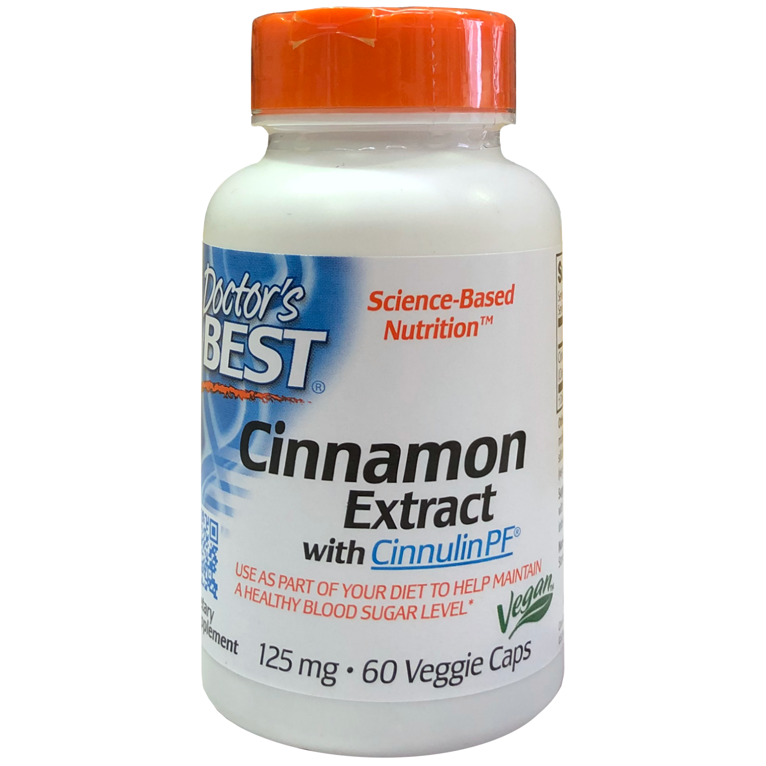 Doctor's Best Cinnamon Extract