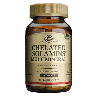 Solgar Chelated Solamins Multimineral