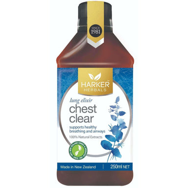 Harker Herbals Lung Elixir Chest Clear