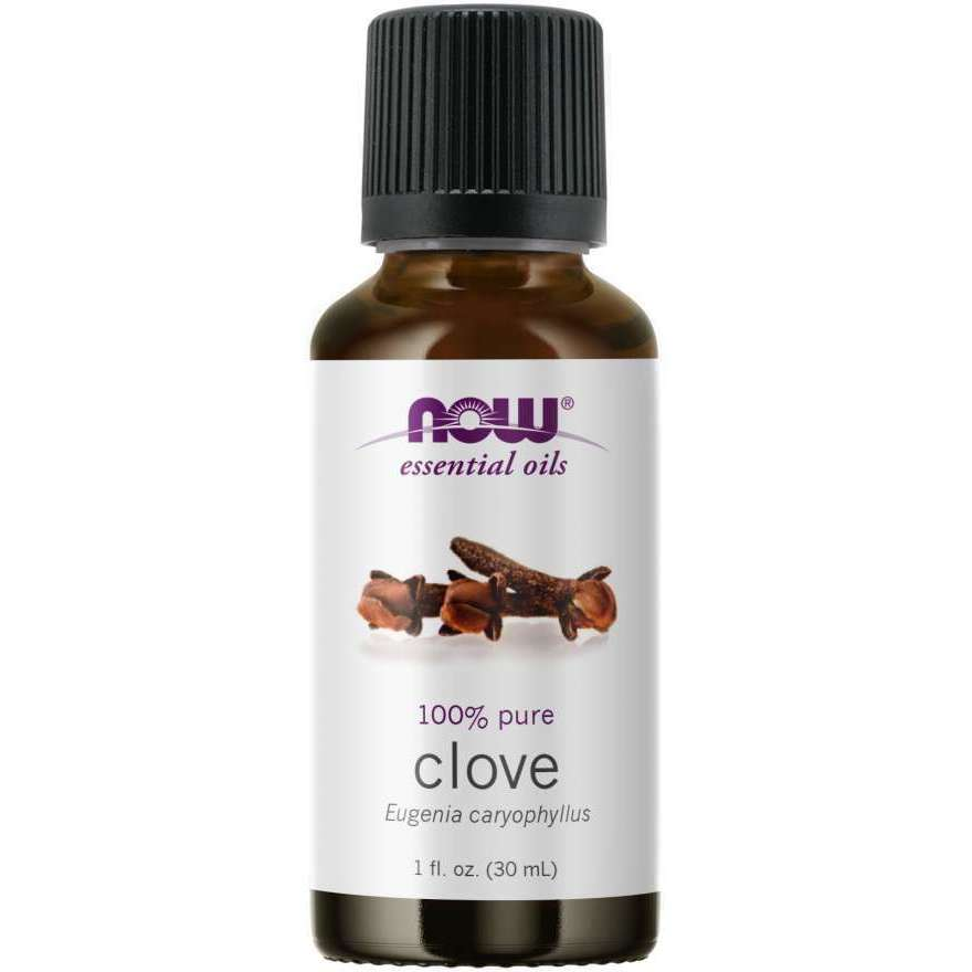 Now Clove Essential Oil (Eugenia Caryophyllus), 100% Pure
