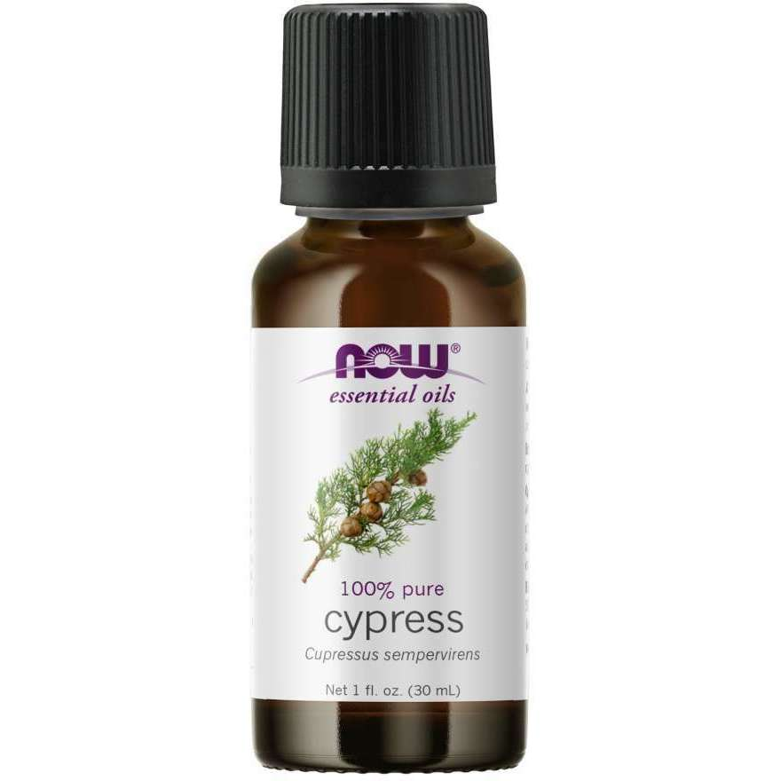 Now Cypress Essential Oil (Cuprssus Sempervirens), 100% Pure