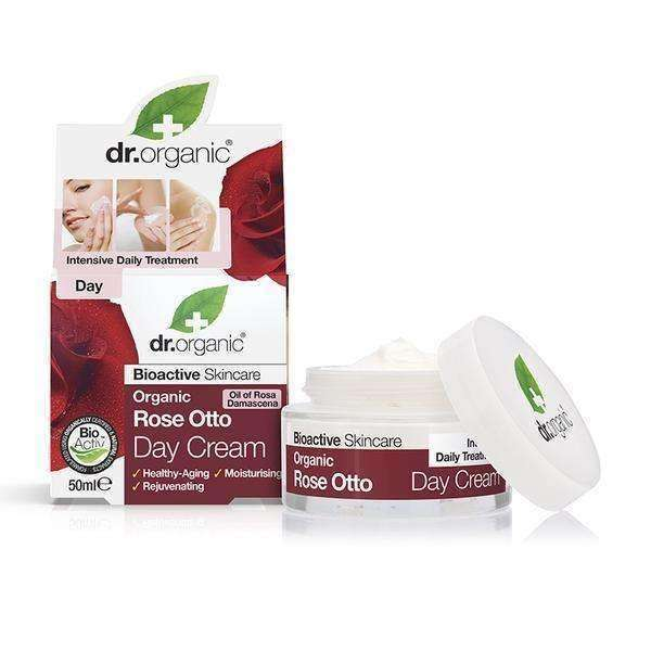 Dr.Organic Rose Otto Day Cream