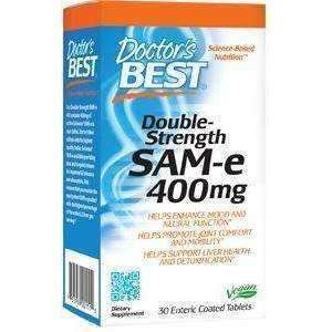 Doctor's Best SAMe 400mg (Double Strength)