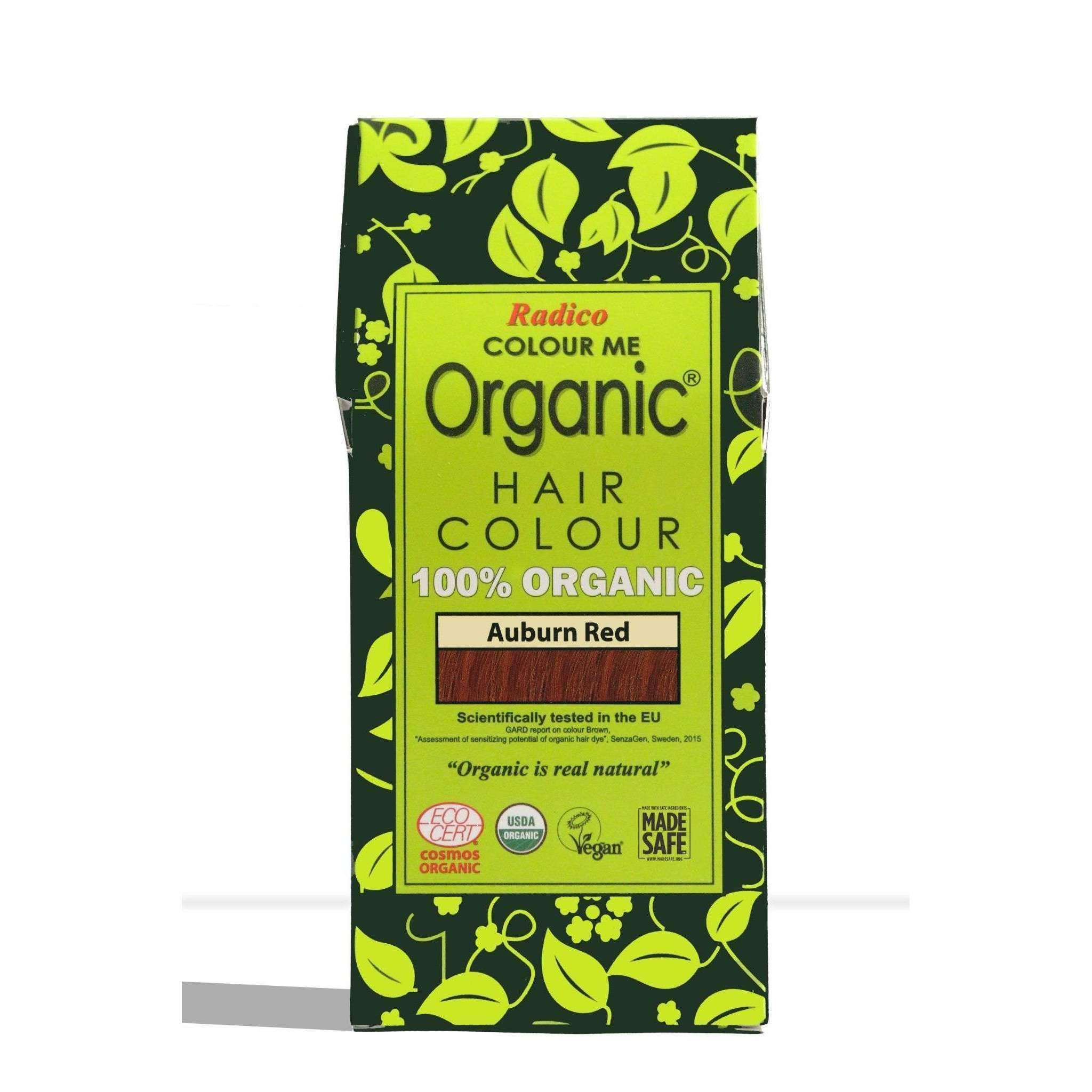 Organic Hair Colour - Auburn Red