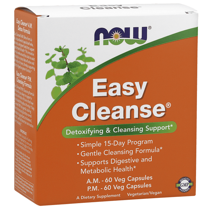 Now Easy Cleanse - Detoxifying and Cleansing Support