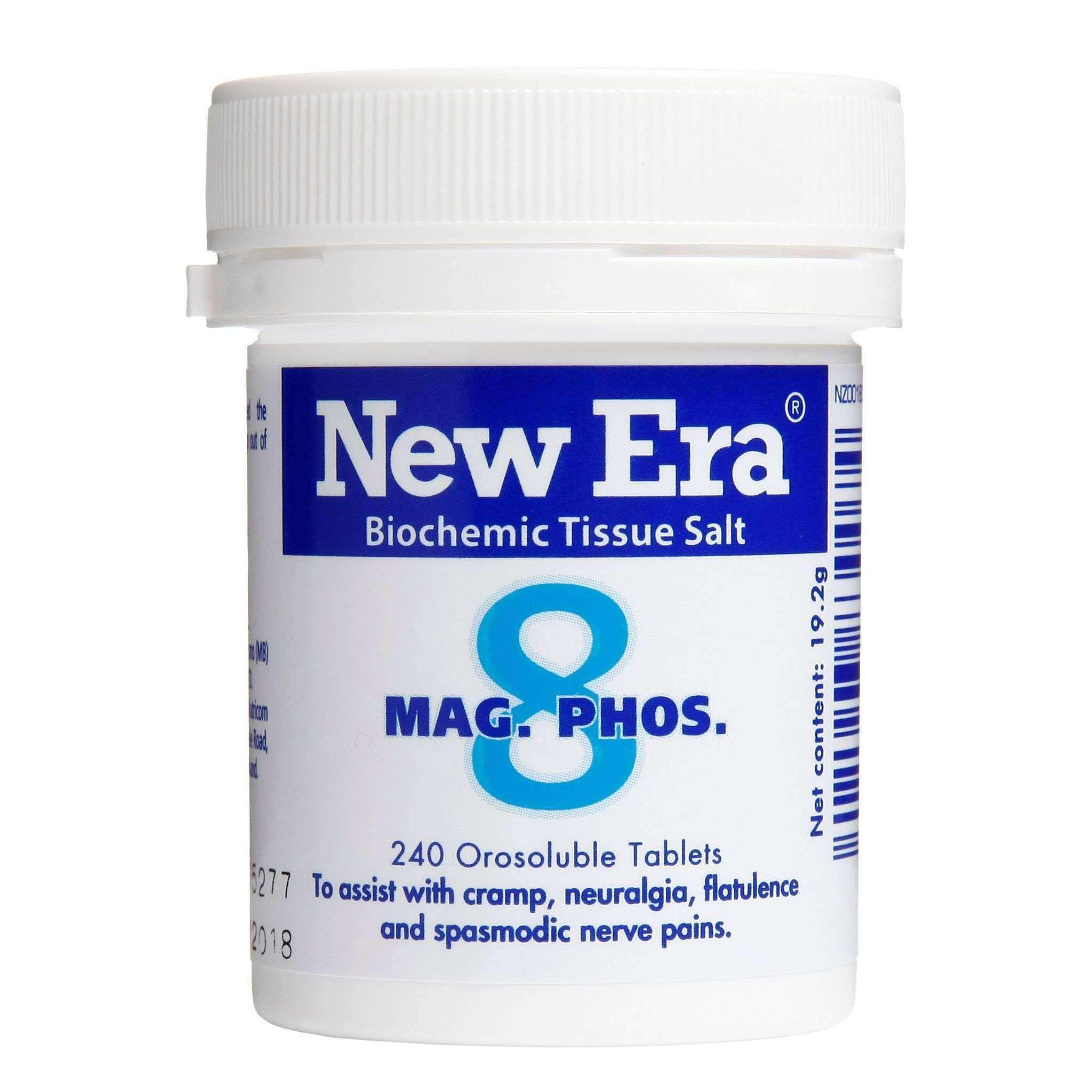 New Era New Era No.8 Mag Phos - The Muscle Nutrient.