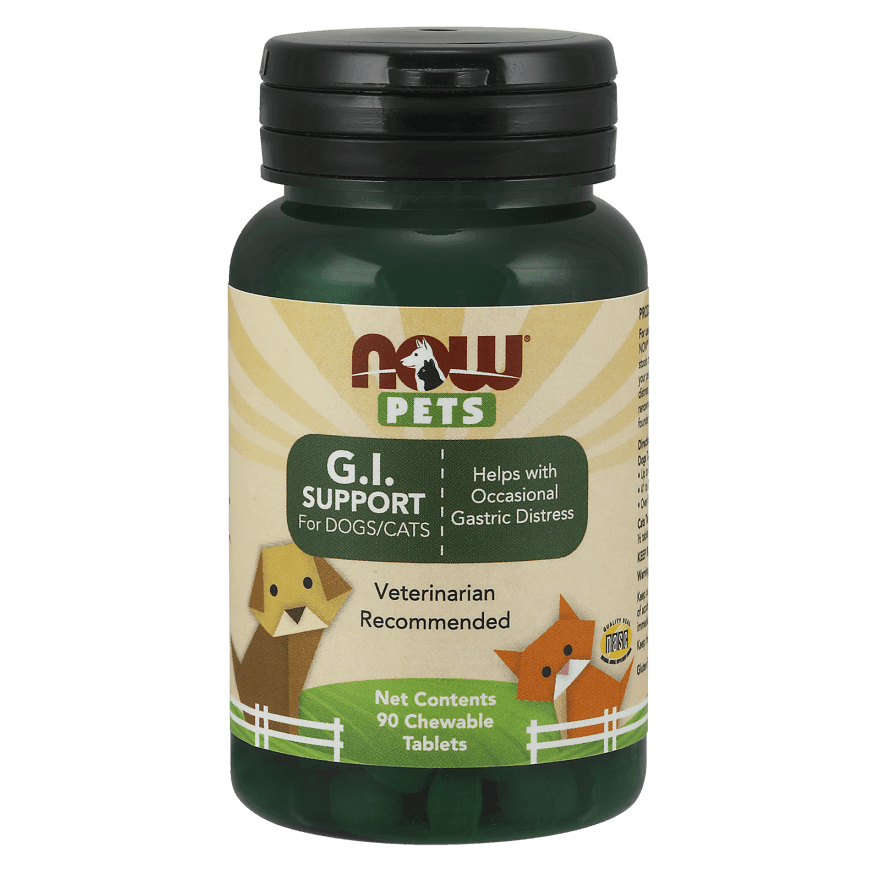 Now Pets GI Support for Dogs and Cats