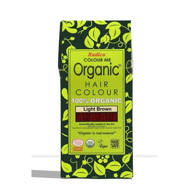 Radico Organic Hair Colour - Light Brown