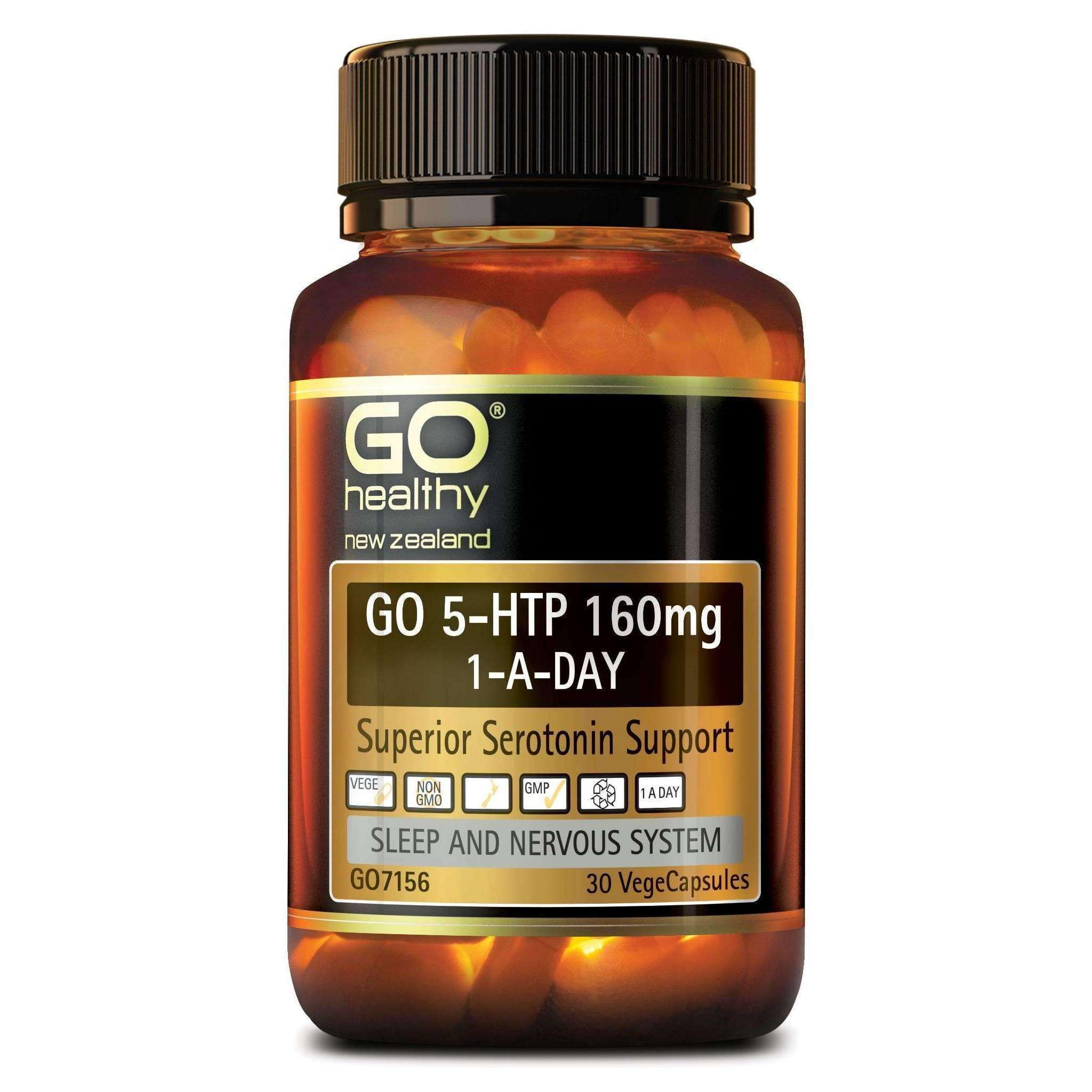 Go 5-HTP 160mg 1-A Day