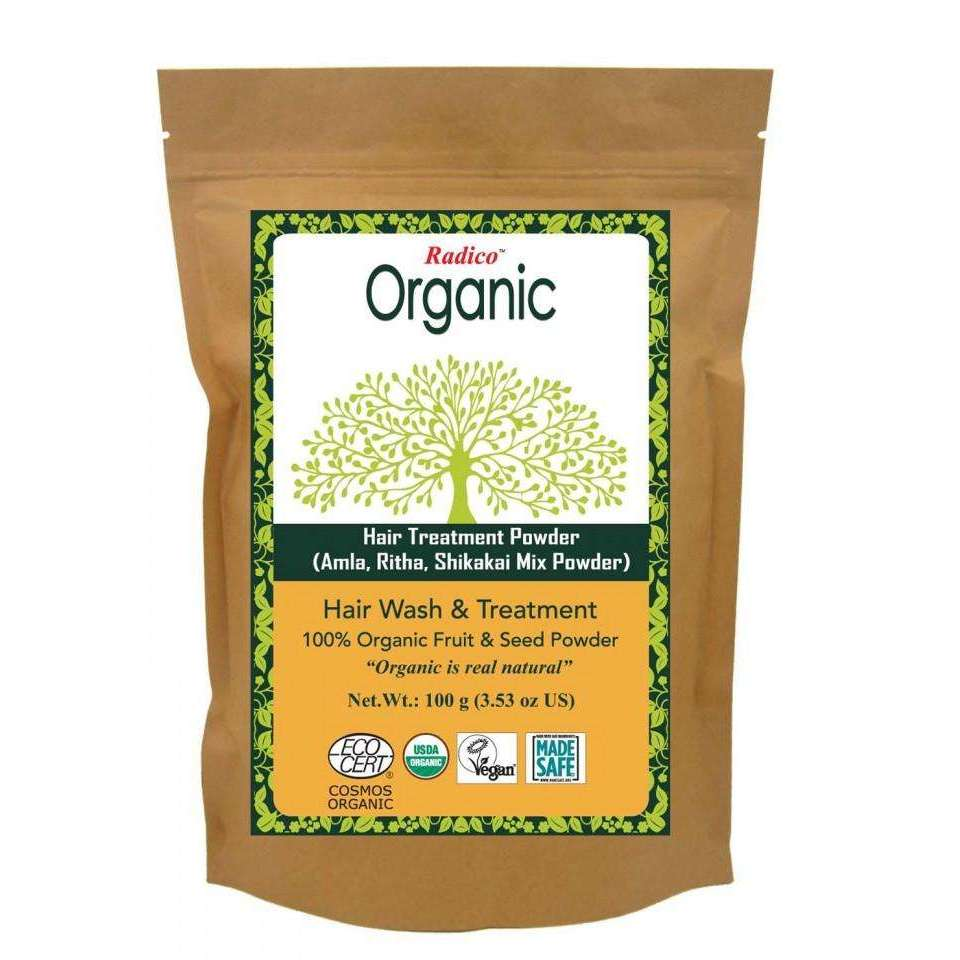 Organic Hair Treatment Powder