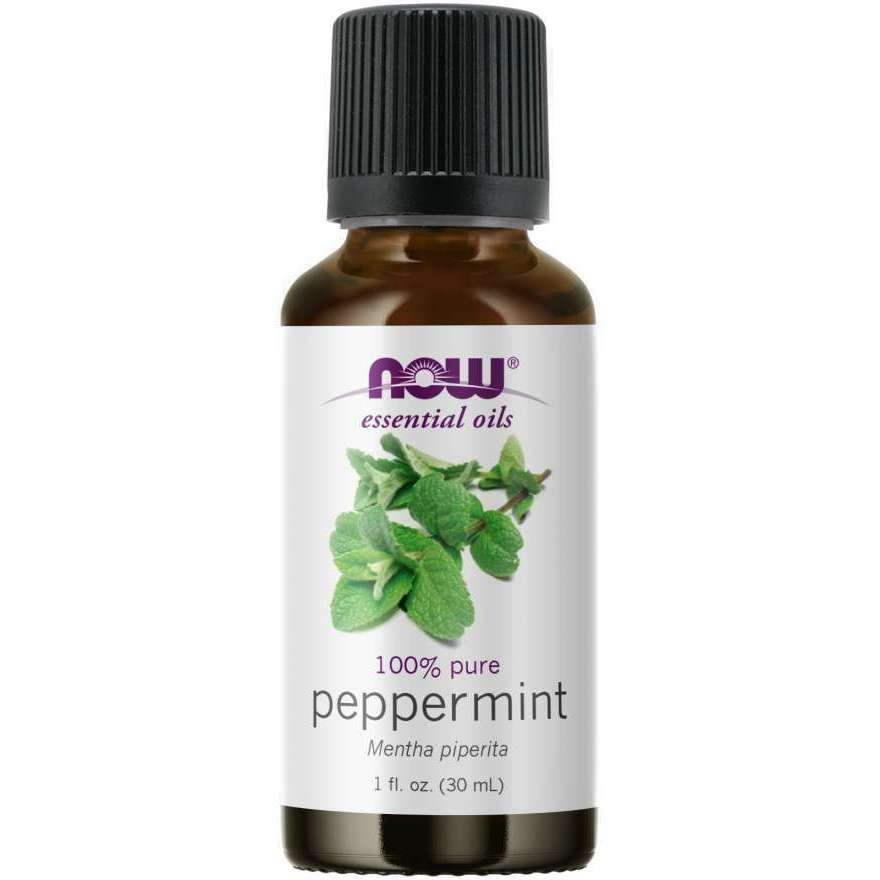Now Peppermint Essential Oil (Mentha Piperita), 100% Pure