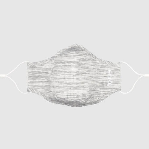 Active Light Gray::Light Gray face mask for working out