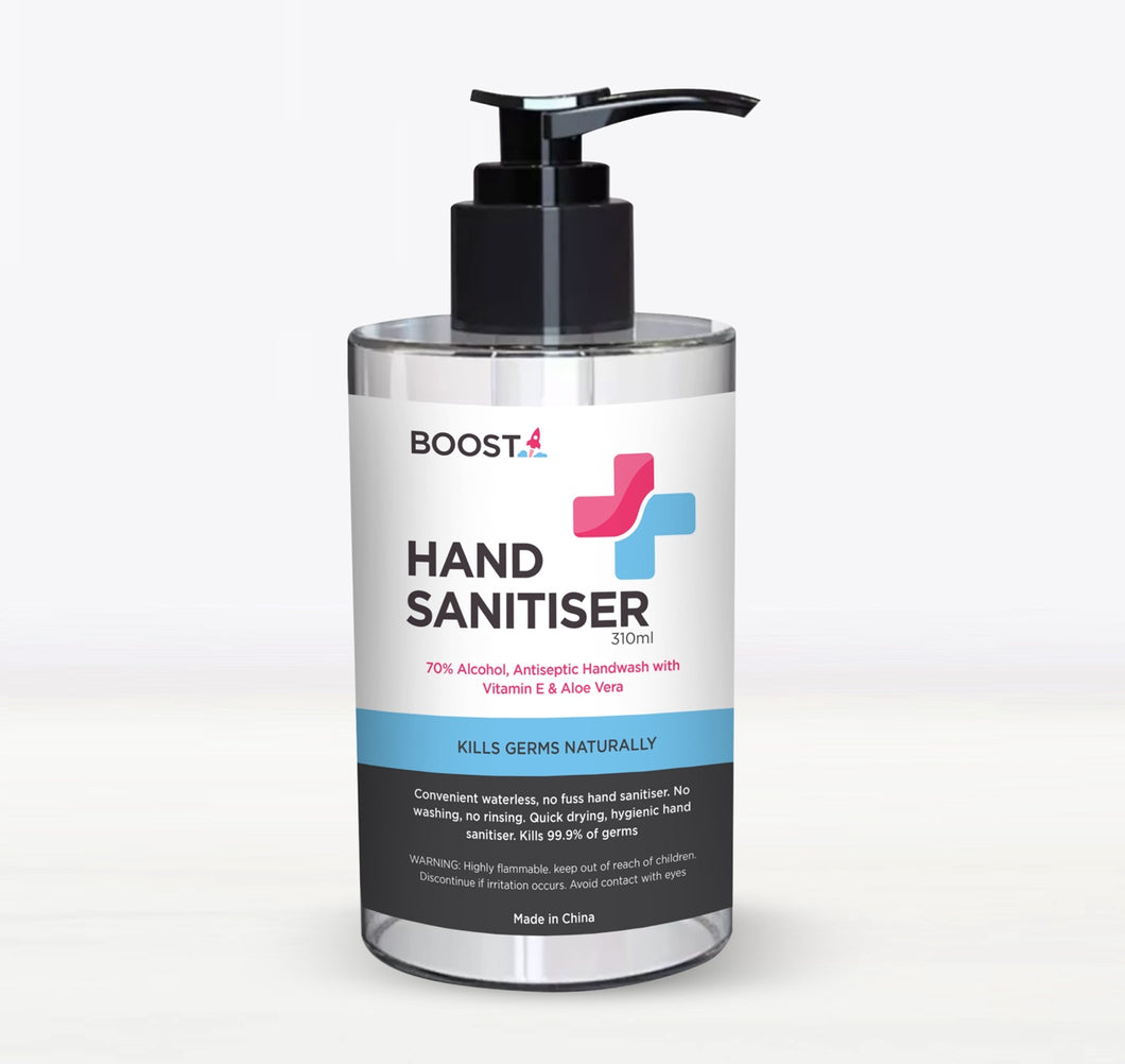 310ml Hand Sanitiser