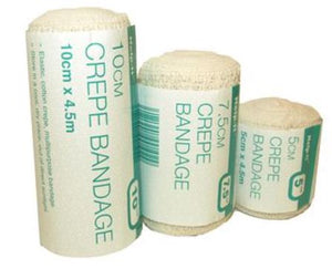 Crepe Bandages - Various Sizes
